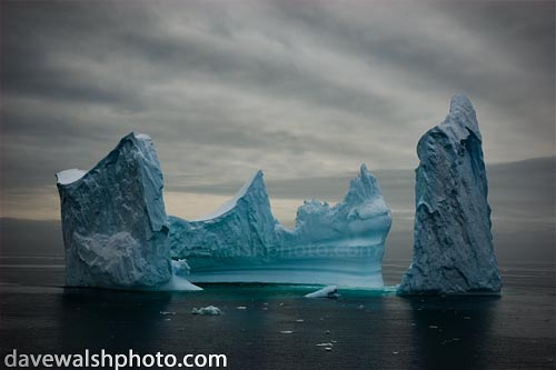 Antarctic Iceberg fine art print by Dave Walsh