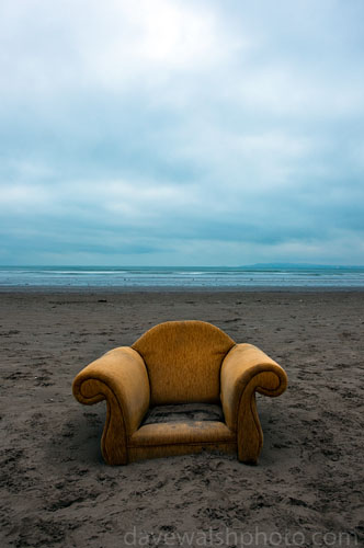 Armchair on Bull Island © Dave Walsh 2009
