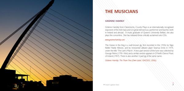 Masters of the Irish Harp (Inside)