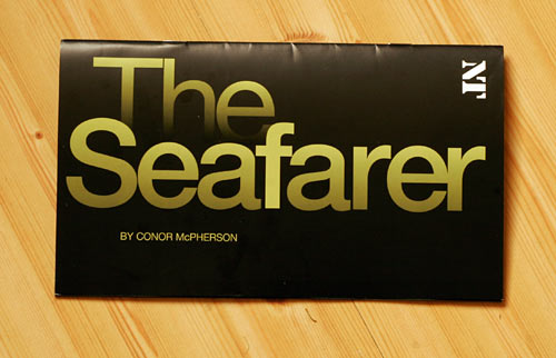 The Seafarer by Conor McPherson - programme
