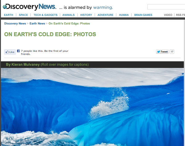 The Cold Edge on Discovery News