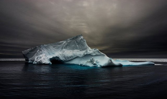 Collapsed Iceberg, by Dave Walsh, from The Cold Edge series