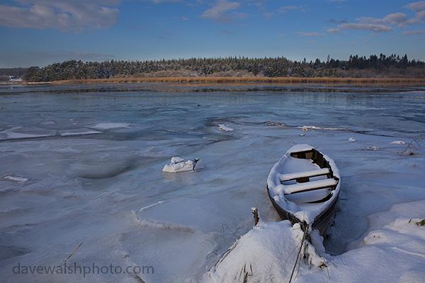 The Frozen River Slaney