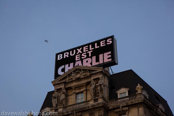 Bruxelles est Charlie
