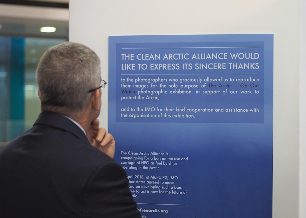 Dave Walsh Photography: The Arctic On Our Watch at the MEPC73, International Maritime Organization